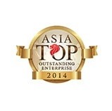 Asia Top Outstanding Enterprise 2014